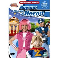 Lazytown Anyone Can Be A Hero DVD