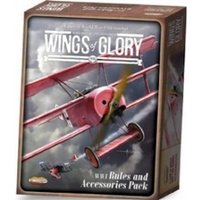 Wings of Glory WWI Rules and Accessories Pack Board Game