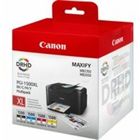Canon 9182B004 (PGI-1500 XLCMYBK) Ink cartridge multi pack, 34ml 3x12ml, Pack qty 4