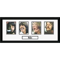 The Beatles Storyboard Framed Photographic Print