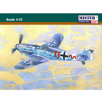 1:72 Me BF-109G-6R6 -/trop - Bartels Model Kit