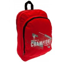 Liverpool FC Champions of Europe Backpack