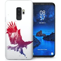 CASEFLEX SAMSUNG GALAXY S9 PLUS EAGLE SPLASH CASE / COVER (3D)