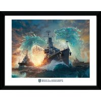 World of Warships Dragons Framed Collector Print