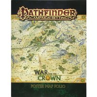 Pathfinder Campaign Setting War for the Crown Poster Map Folio