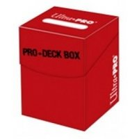 Ultra Pro 100 Red Deck Box