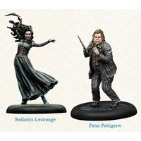 Harry Potter Miniatures Adventure Game Bellatrix and Wormtail Expansion Board Game