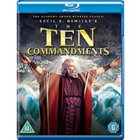 Ten Commandments Blu Ray