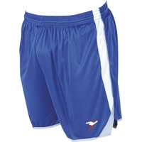Precision Roma Shorts 42-44 Inch Adult Royal/White/Silver