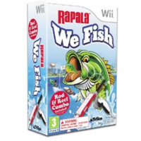 Rapala We Fish Game (includes Rod & Reel Combo)