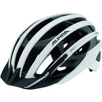 Alpina City Helmet E-helm Delux White/black 55-59cm