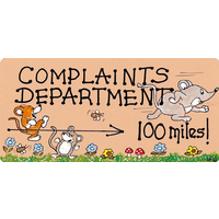 Complaints Department Pack Of 12