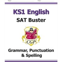 New KS1 English SAT Buster: Grammar, Punctuation & Spelling (for tests in 2018 and beyond) by CGP Books (Paperback, 2016)