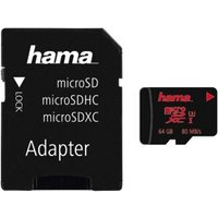 Hama - carte mémoire flash - 64 Go - microSDXC UHS-I