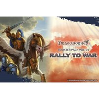Ex-Display Dragoborne TCG: Rally to War Booster Box (20 Packs) Used - Like New