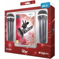 The Voice Includes 2 Microphones Wii & Wii U Game