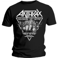 Anthrax - Soldier of Metal FTD Men's Large T-Shirt - Black