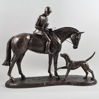 Country Companions Horse by Harriet Glen Cold Cast Bronze Sculpture
