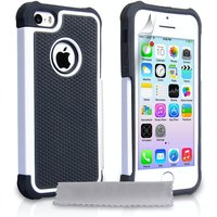 YouSave Accessories iPhone 5 / 5s Grip Combo Case - White