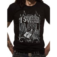 My Chemical Romance - I Survived Men's X-Large T-Shirt - Black