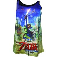 Nintendo Legend of Zelda Skyward Sword Female Sublimation Tank Top X-Large