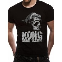 Kong Skull Island - Roar Men's Large T-Shirt - Black