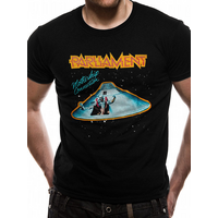Parliament - Mothership Men's X-Large T-Shirt - Black