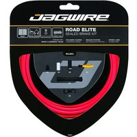 Jagwire Road Elite Sealed Brake Cable Kit Red
