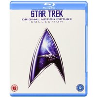 Star Trek Original Motion Picture Collection 1-6 Blu-ray