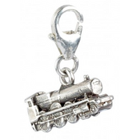 Sterling Silver Hogwarts Express Train Clip on Charm