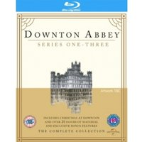 Downton Abbey Series 1-3 & Christmas at Downton Abbey 2011 Blu-ray