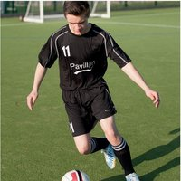 Precision Lyon Training Shirt & Short Set 46-48 Black/White