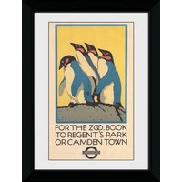 Transport For London Zoo Framed Collector Print