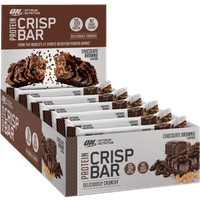 Chocolate Brownie (Pack Of 10) Protein Crisp Bar