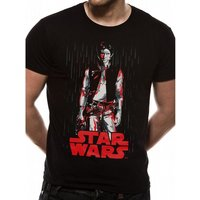 Star Wars - Solo Tonal Line Men's Large T-Shirt - Black
