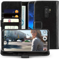 Samsung Galaxy S9 Plus Real ID Wallet - Black