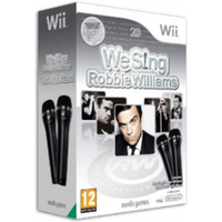 We Sing Robbie Williams Game + 2 Logitech USB Microphones