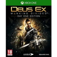 'Deus Ex Mankind Divided Day One Edition Xbox One Game [used - Like New]