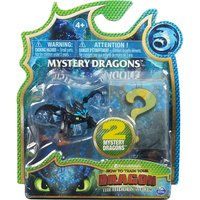 'How To Train Your Dragon The Hidden World - 2 Mystery Dragons (1 At Random) [damaged Packaging]