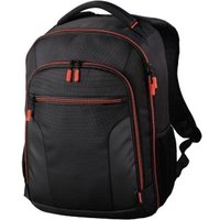 Hama Miami Camera Backpack, 190, black/red