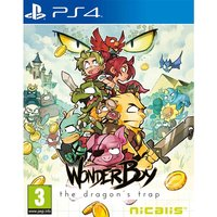 Wonder Boy The Dragon's Trap PS4 Game (Inc Bonus Items)