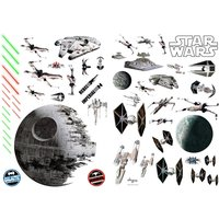 Star Wars - Battleships Wall Stickers (100 x 70 cm)