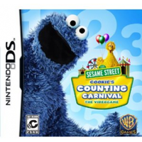Sesame Street Cookies Counting Carnival Game