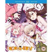 School Live! (Gakkou Gurashi!) Complete Season 1 - Collector's Edition Blu-ray/DVD Combo