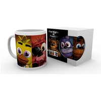 Five Nights at Freddys Faces Mug