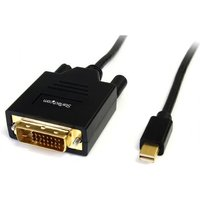 Startech Mini DisplayPort Male to DVI-D Male Converter Cable, 1.8 Metres