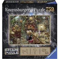 Ravensburger Escape Puzzle – Witch's Kitchen 759 Piece Mystery Jigsaw Puzzle (00.019.958)