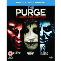 The Purge: 3 Movie Collection Blu-ray Digital Download