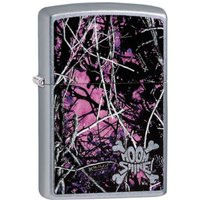 Zippo Moon Shine Camo Muddy Girl Street Chrome Finish Windproof Lighter