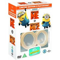 Despicable Me / Despicable Me 2 (with Limited Edition Minion Goggles) DVD 2013